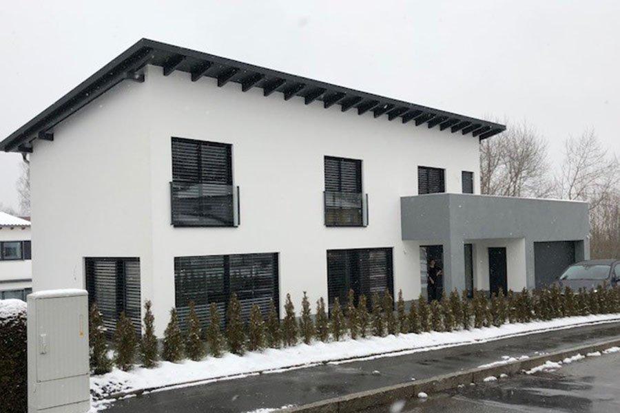BV Neubau eines EFH in Passau-Neustift