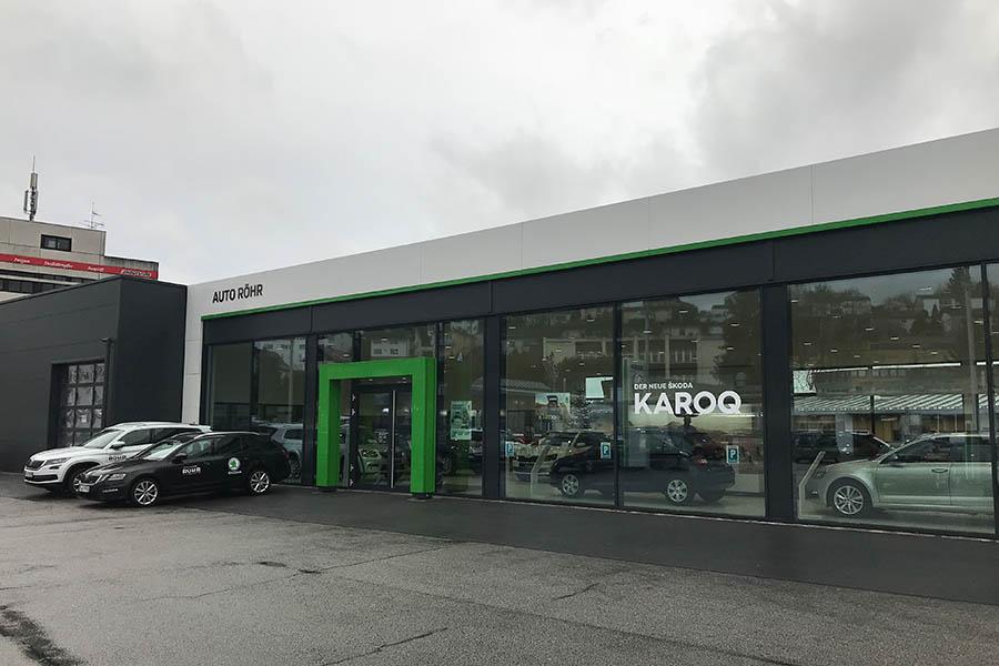 BV Umbau einer Skoda Ausstellungshalle in Passau