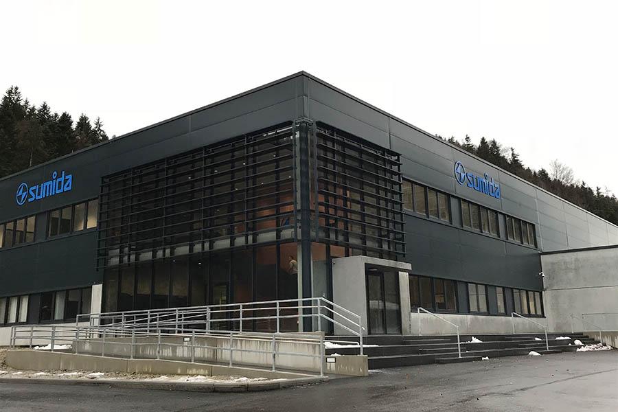 BV Neubau eines Verwaltungsgebäude Sumida in Erlau